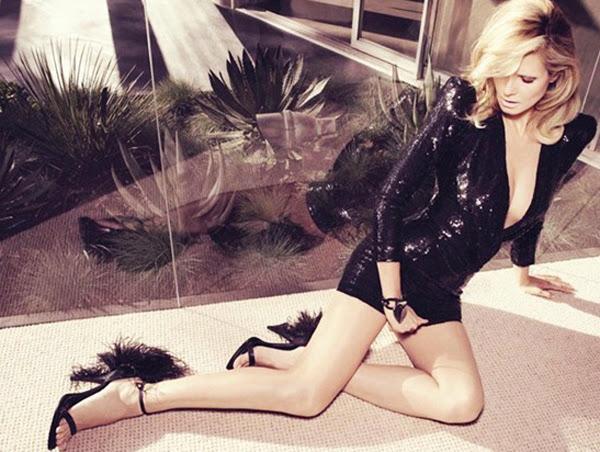 Heidi Klum, desnuda