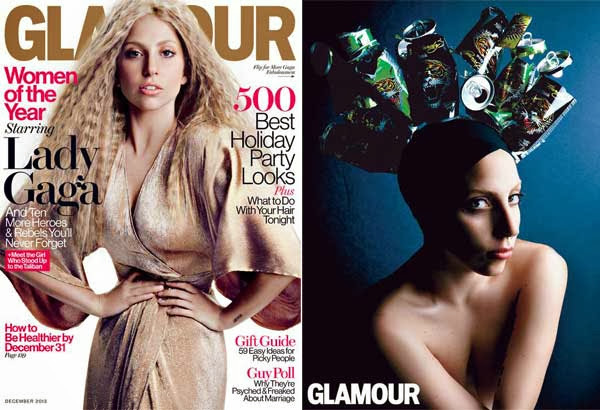 Lady Gaga for Glamour