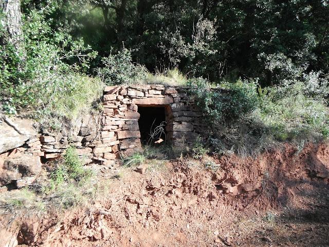 Cabana del camí de les Pomeretes