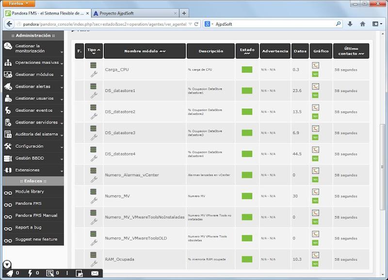 Añadir script PowerCLI para monitorizar servidor VMware ESXi con Pandora FMS