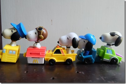 Snoopy x McDonald's: Transport