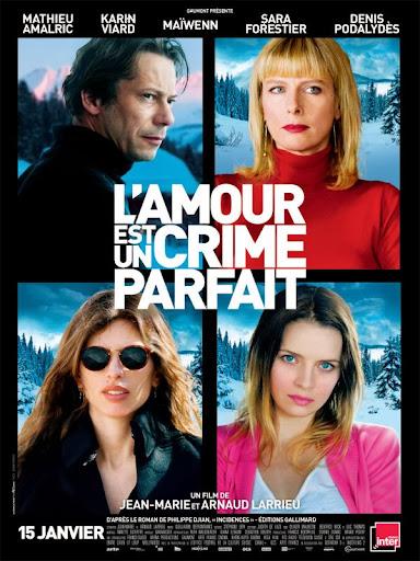 Ο Έρωτας είναι το Τέλειο Έγκλημα L'Amour Est Un Crime Parfait Poster
