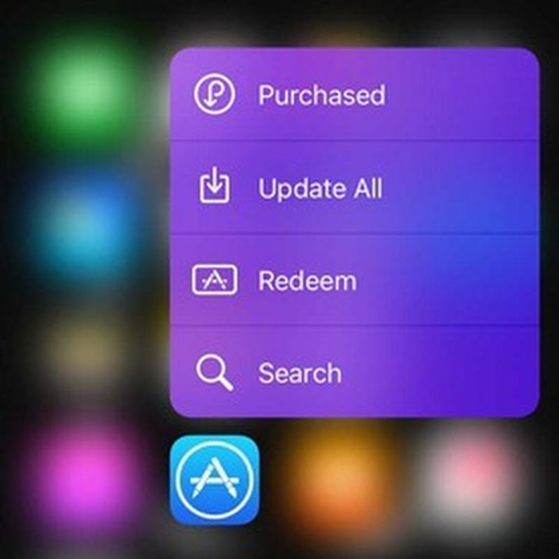 Add Custom Colours To 3D Touch Quick Actions Menus With 3DColorChanger Cydia Tweak