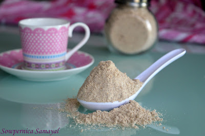 Health Mix Kanji Powder (The easy way…)