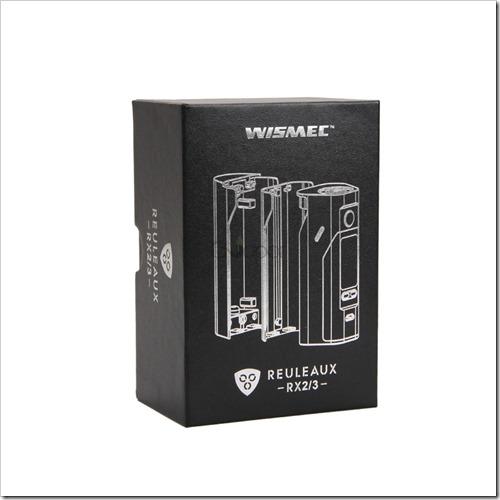 8 9 thumb%25255B2%25255D - 【MOD】「Wismec Reuleaux RX2/3 200W TC Box Mod」レビュー。18650を2本か3本選択できるハイワッテージMOD!!【大画面液晶・ファームウェア書き換え可】