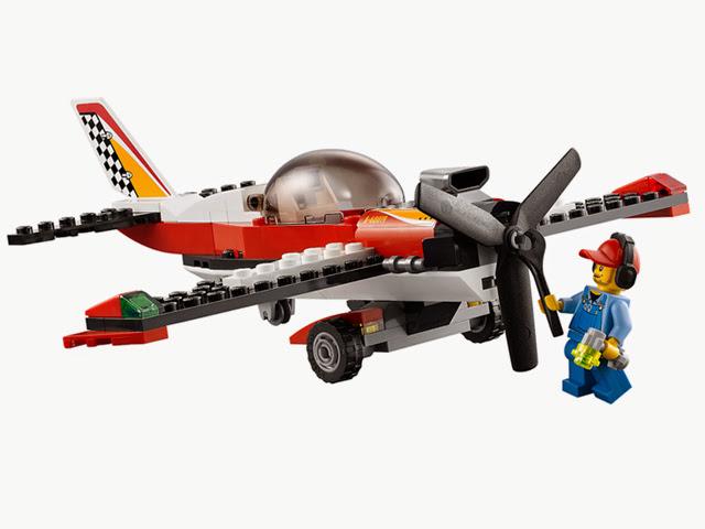 60019 レゴ シティ スタント飛行機