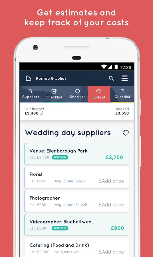 Bridebook - The UK's #1 Wedding Planning App- screenshot