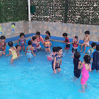 Water Play Activity by Nursery Evening Section at Witty World, Chikoowadi (2018-19)