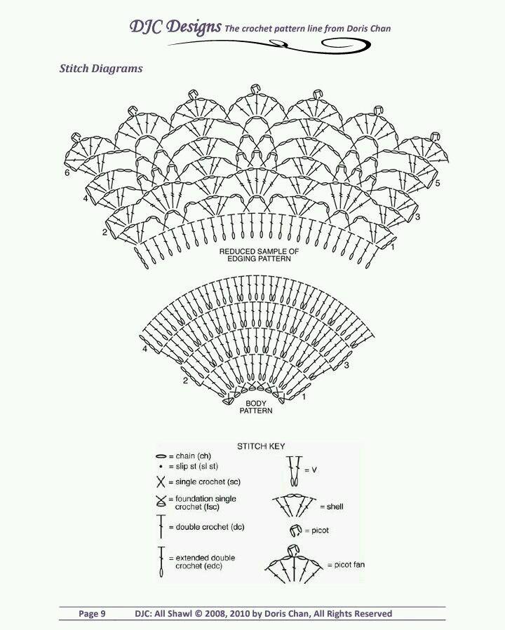 Lo Spazio Di Lilla Scialli Crochet Con Schemi Gratuiti