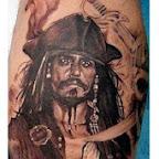 leg black and white - tattoos ideas