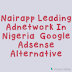 Nairapp Leading Nigeria Adnetwork Overview .