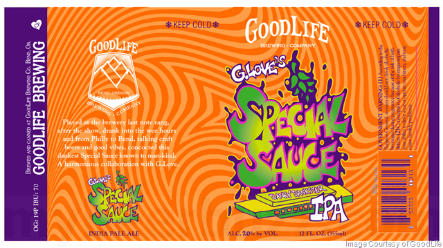 GoodLife Brewing Presents G. Love's Special Sauce IPA