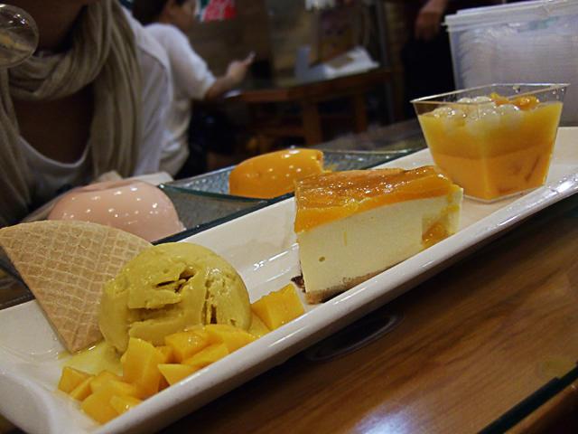 Mango platter