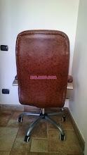Photo: retro poltrona ufficio marrone