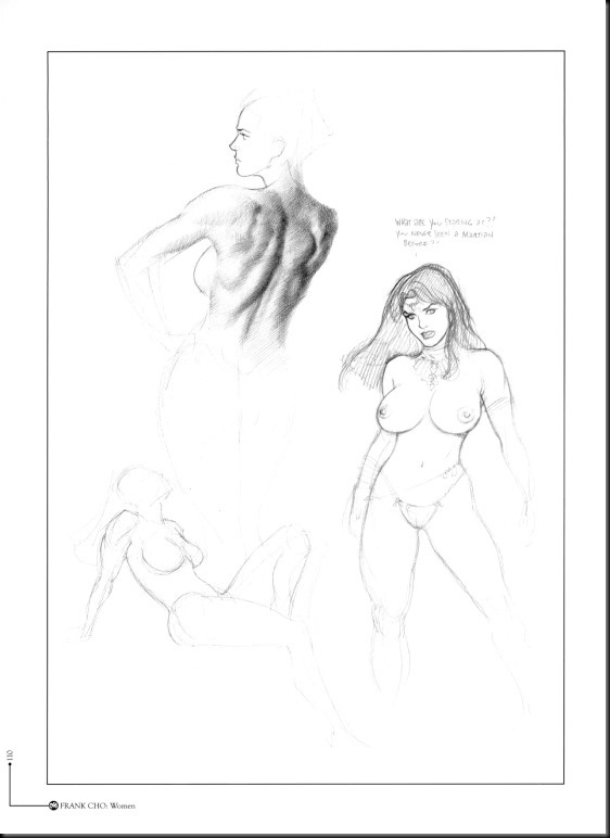 [Frank Cho] Women - Selected Drawings and Illustrations_854057-0112