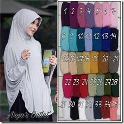 jilbab tangan serian 3