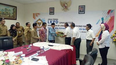 Pemkot Tangerang Serahkan LKPD Tahun 2017 Pada BPK Perwakilan Propinsi Banten