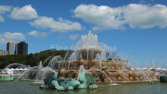 Buckingham Fountain, Chicago, Elisa N, Blog de Viajes, Lifestyle, Travel