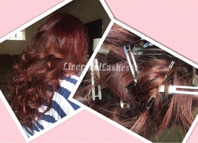 liverpoollashes north west beauty blogger heatless curls