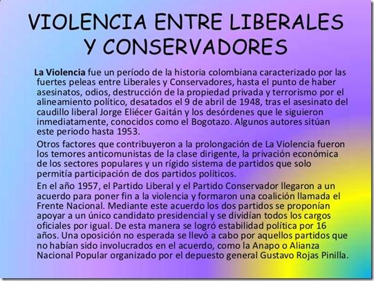 10 Violencia entre liberales y conservadores