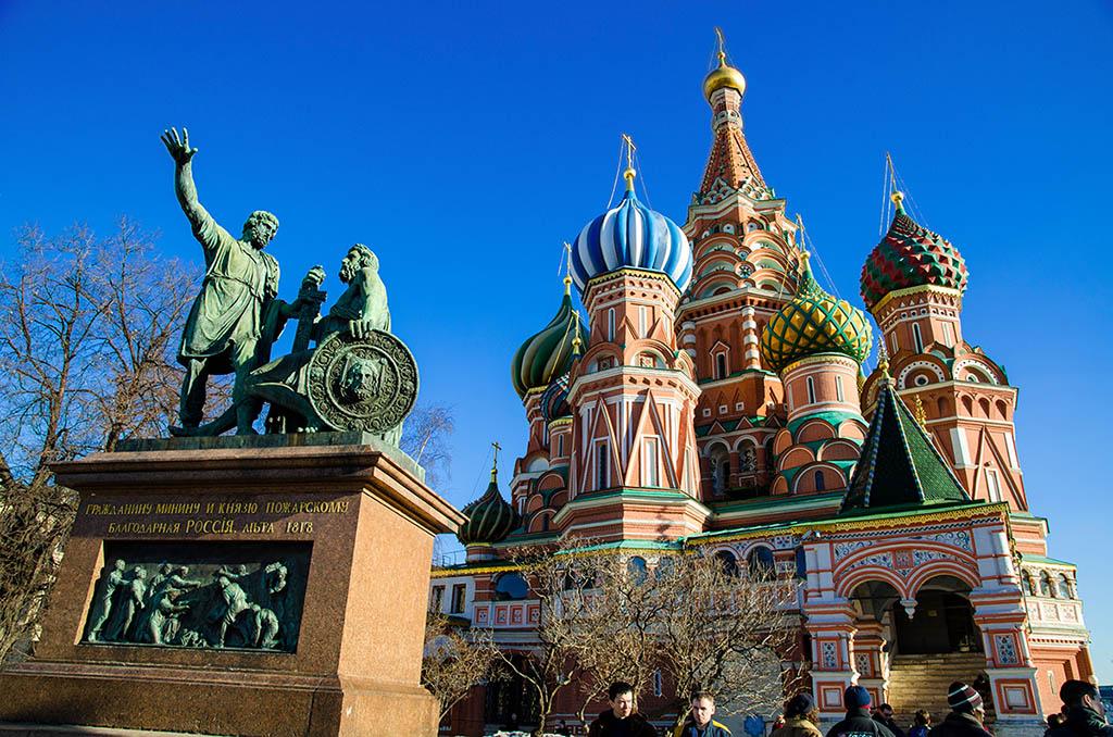 莫斯科 紅場 聖瓦西里主教座堂 大教堂 Saint Basil's Cathedral
