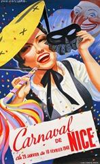 Carnaval de Nice affiche 1948