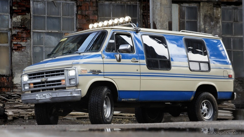 1995 Chevrolet Chevy Van Specifications  Pictures  Prices