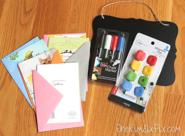How to organize birthday cards