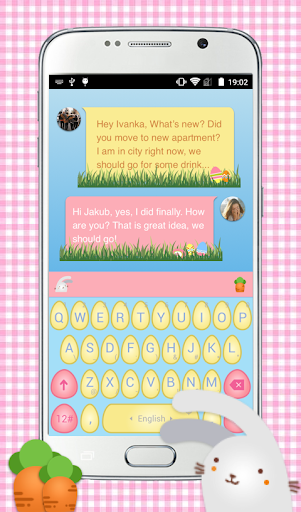 Easter Bunny Keyboard Theme
