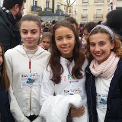 Marcha Solidaria por la Paz en Montijo