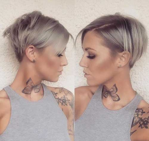 Famous Short Haircuts For Fine Hair 2018 Trends Styles Art