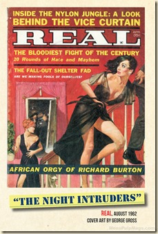 01 - REAL, August 1962 cover