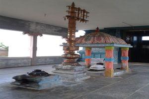 Thiruppariyalur (Parasallur) Temple Dwajasthambam, Bali peedam & Nandi