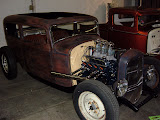 This 32 Ford Tudor was built by Blue Collar Customs, they used my mini generator bracket.