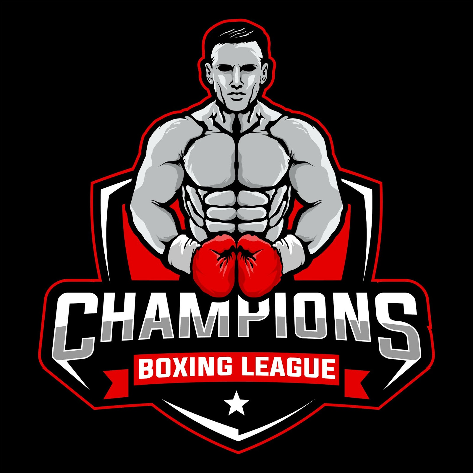Boxing League Free Download Vector CDR, AI, EPS and PNG Formats