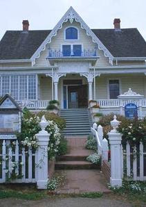 American Victorian Gothic House