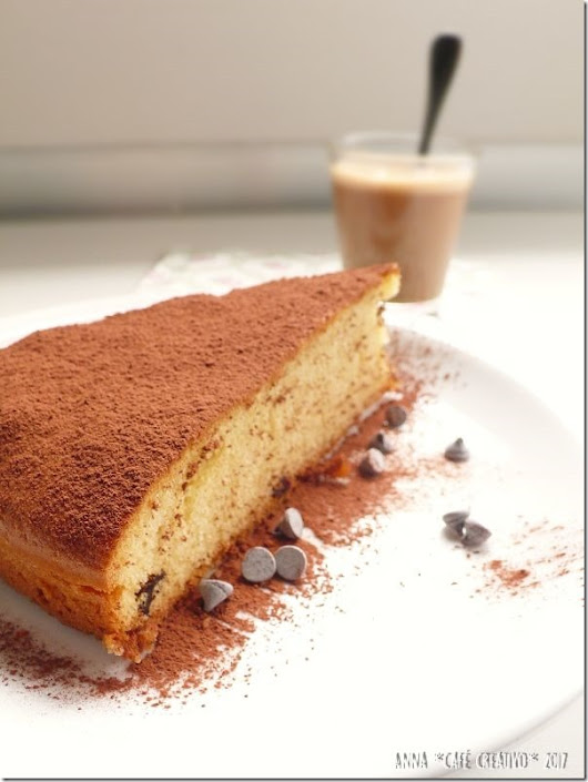 Cafe Creativo: Torta all'acqua senza burro né latte