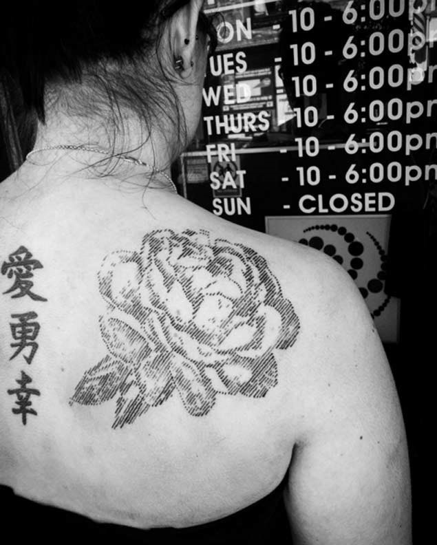 Este grande rosa
