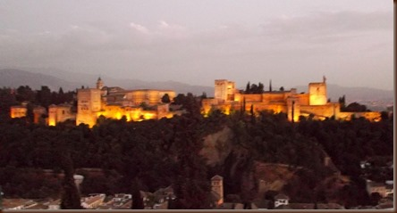 Alhambra, early evening