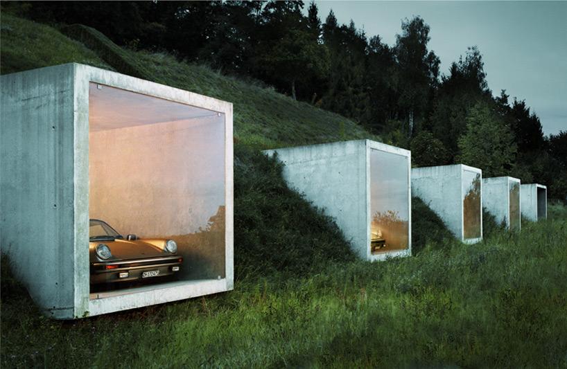 необычная парковка