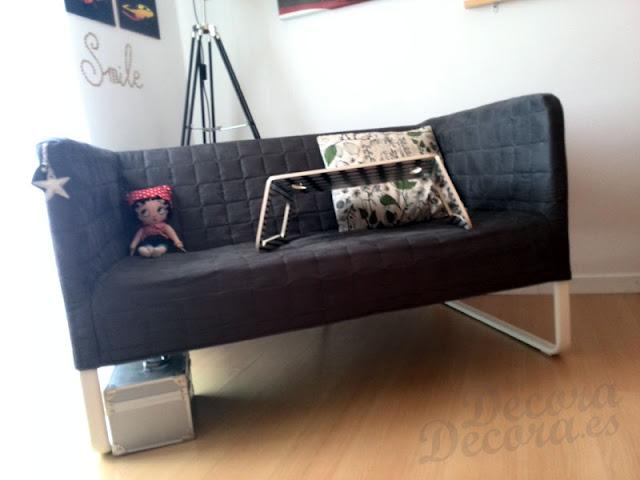 El sof knopparp de ikea - Ikea valencia sofas ...