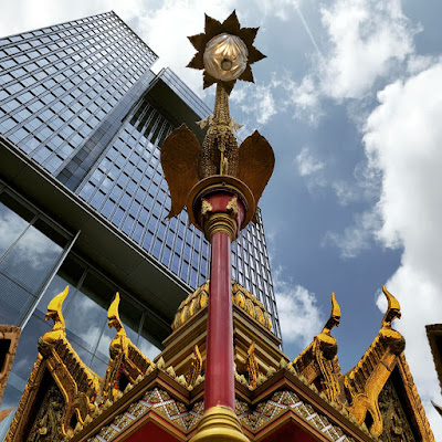 Four-Headed Buddha Shrine (2) ©LeDomduVin 2020