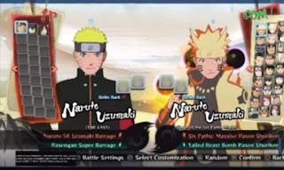 Naruto Senki Mod Storm 4 by Alwan
