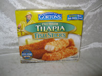 Gorton's Seafood Tilapia Fish Sticks