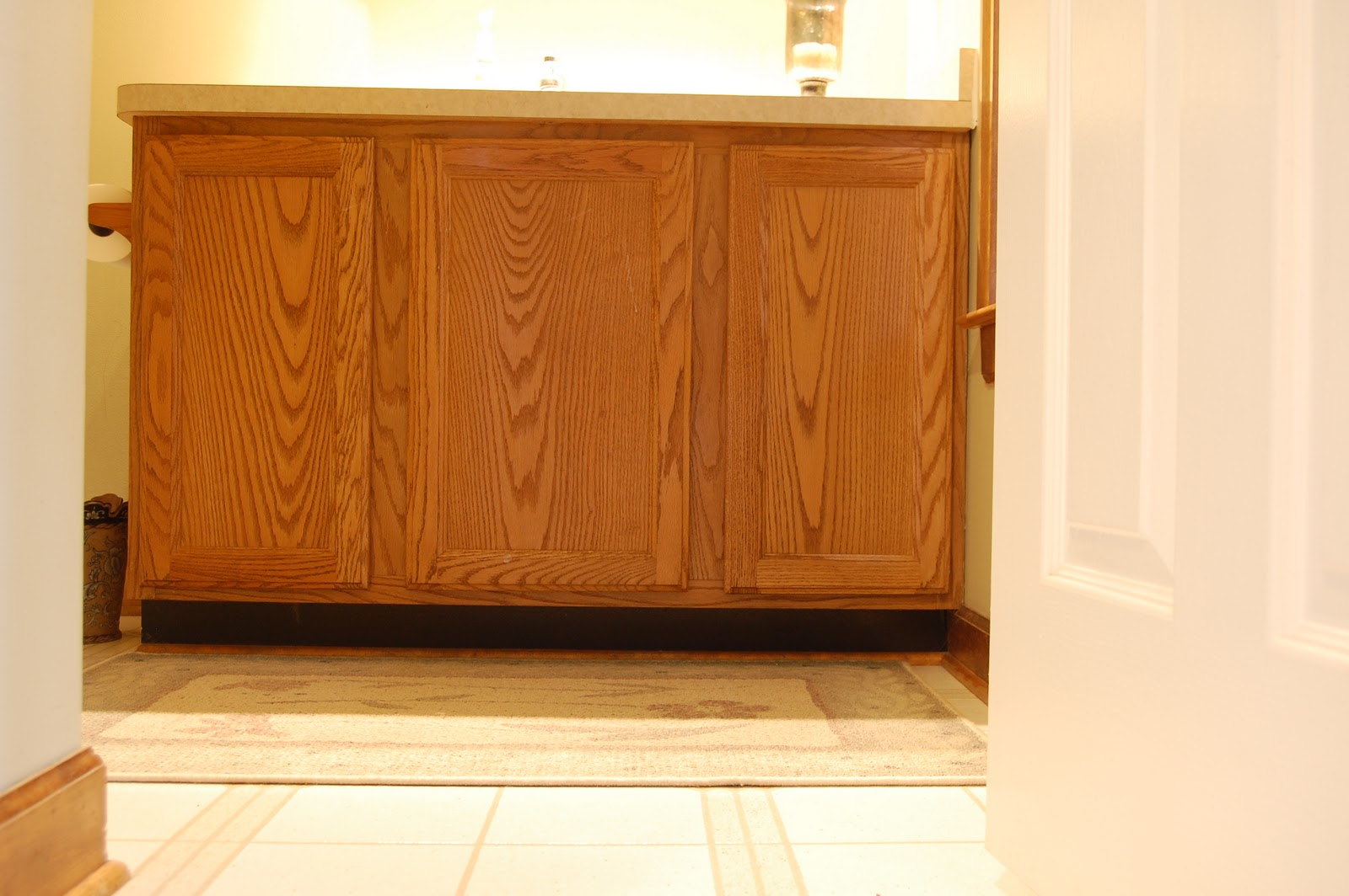 Roly Poly Farm How To Love Your Oak Cabinet Again Staining O