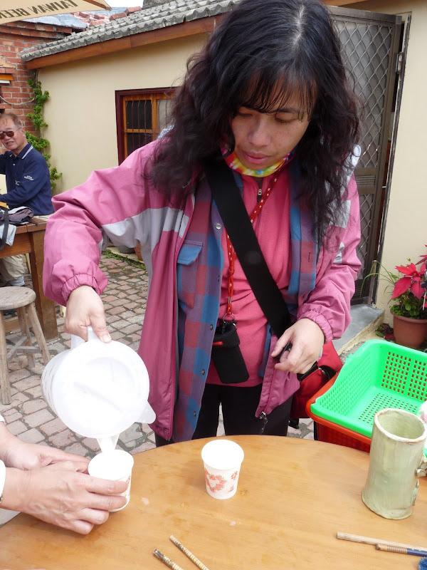 Délicieuse boisson chaude aux amandes,un peu comme la Horchata en Espagne (qui, en Espagne est servie glacée)