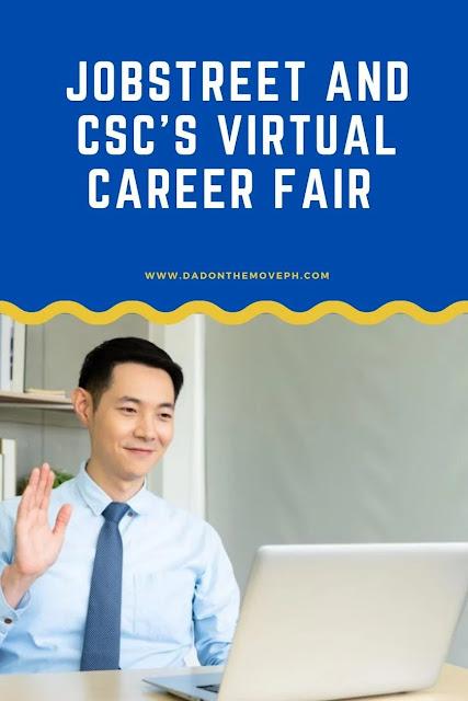 Job openings in JobStreet and CSC's Virtual Career Fair