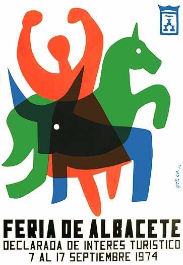Cartel Feria Albacete 1974