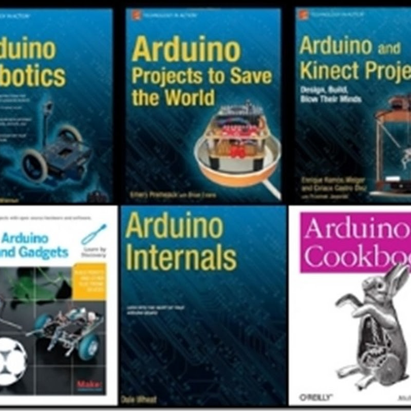 Arduino Books Collection