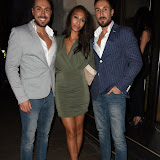 OIC - ENTSIMAGES.COM - Toni Alberti, Rachel Christie and John Alberti at the Novikov Restaurant and Bar   in London  26th June  2015 Photo Mobis Photos/OIC 0203 174 1069